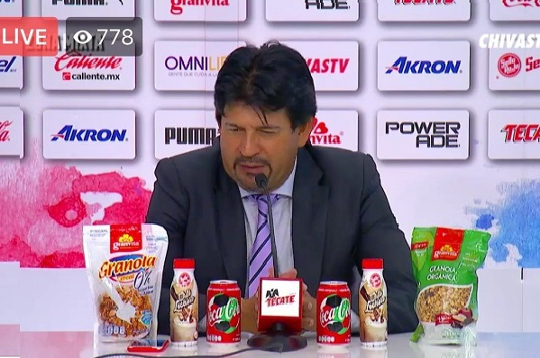 Mexican post-match conference takes the biscuit, and a lot more
